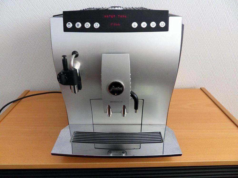 f rs ljningsobjekt helautomatisk espressomaskin jura impressa z5. Black Bedroom Furniture Sets. Home Design Ideas