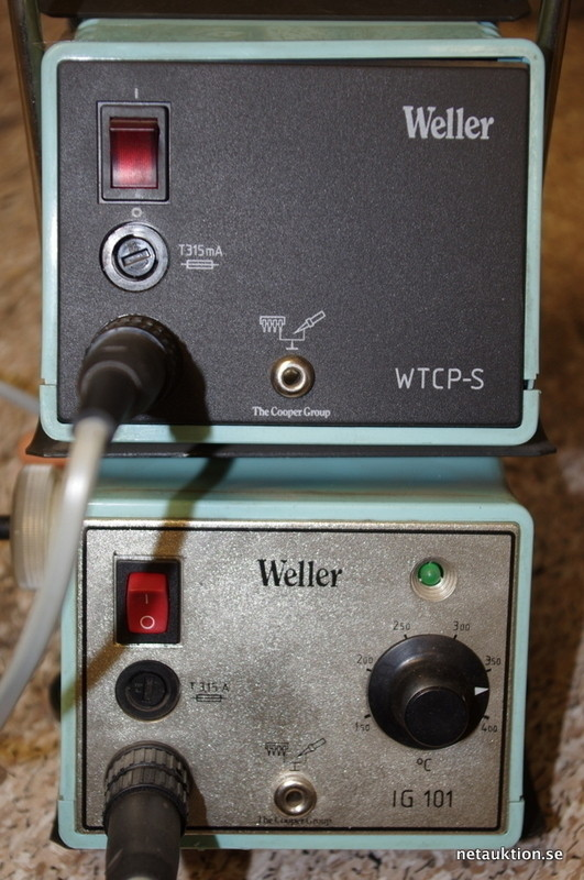 Berömda Försäljningsobjekt: Lödkolv Weller KX-37