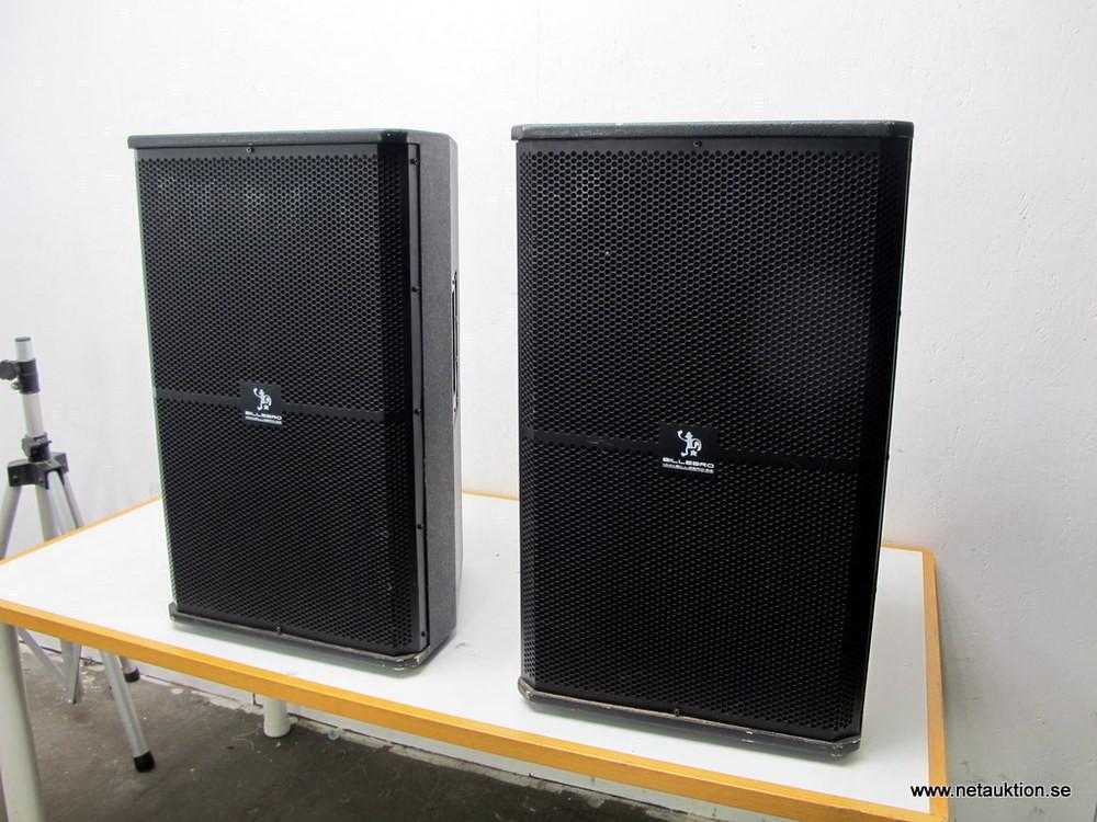 Netauktion.se - 2st högtalare med stativ - 0920-012 ... 276d11d5896b3
