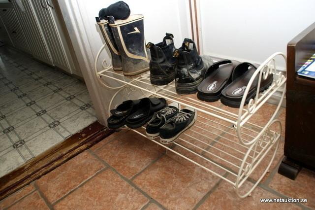 sko och hatthylla
