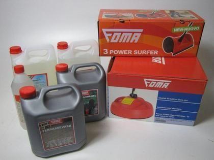 Försäljningsobjekt: Diversse tillbehör för FOMA